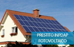INPS ex INPDAP prestito fotovoltaico